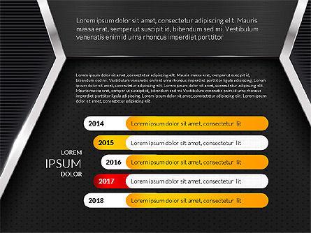 Company Profile Data Driven Presentation Template, Slide 5, 03250, Data Driven Diagrams and Charts — PoweredTemplate.com