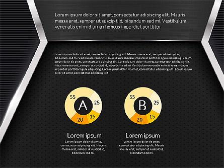 Company Profile Data Driven Presentation Template, Slide 6, 03250, Data Driven Diagrams and Charts — PoweredTemplate.com