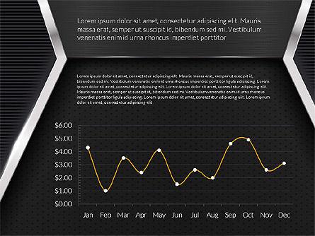 Company Profile Data Driven Presentation Template, Slide 8, 03250, Data Driven Diagrams and Charts — PoweredTemplate.com