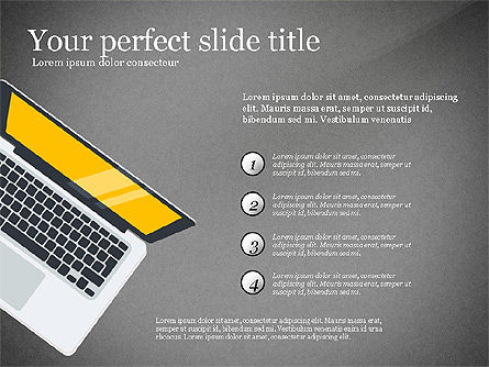 Startup Creative Presentation Template, Slide 10, 03251, Presentation Templates — PoweredTemplate.com
