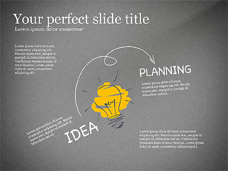 Startup Creative Presentation Template, Slide 11, 03251, Presentation Templates — PoweredTemplate.com