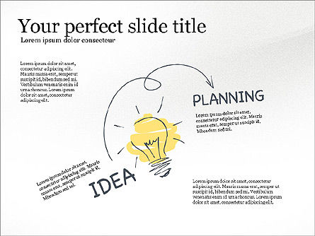 Startup Creative Presentation Template, Slide 3, 03251, Presentation Templates — PoweredTemplate.com