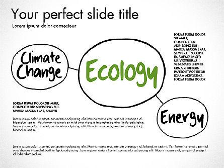 Ecology Mind Maps, Slide 10, 03254, Business Models — PoweredTemplate.com