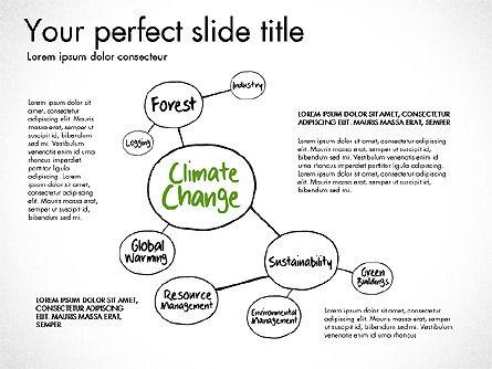 Ecology Mind Maps, Slide 11, 03254, Business Models — PoweredTemplate.com