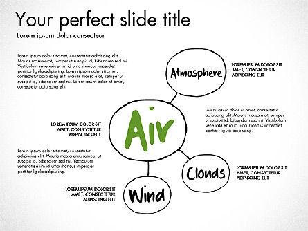Ecology Mind Maps, Slide 12, 03254, Business Models — PoweredTemplate.com