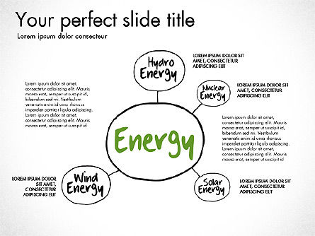 Ecology Mind Maps, Slide 13, 03254, Business Models — PoweredTemplate.com
