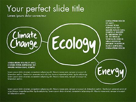 Ecology Mind Maps, Slide 2, 03254, Business Models — PoweredTemplate.com
