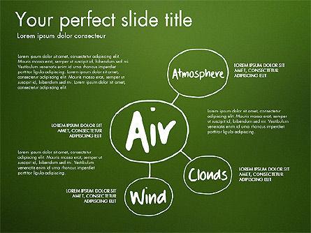 Ecology Mind Maps, Slide 4, 03254, Business Models — PoweredTemplate.com
