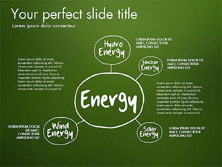 Ecology Mind Maps, Slide 5, 03254, Business Models — PoweredTemplate.com
