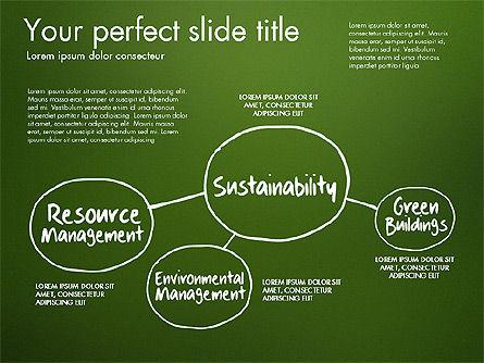 Ecology Mind Maps, Slide 6, 03254, Business Models — PoweredTemplate.com