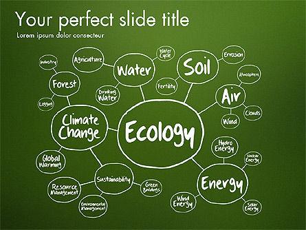 Ecology Mind Maps, Slide 8, 03254, Business Models — PoweredTemplate.com