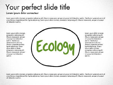Ecology Mind Maps, Slide 9, 03254, Business Models — PoweredTemplate.com