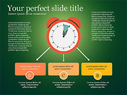 Presentation Templates: Effective Time Management Presentation Template #03255