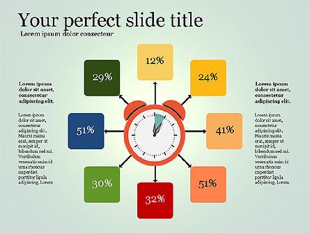 Effective Time Management Presentation Template, Slide 12, 03255, Presentation Templates — PoweredTemplate.com