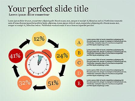Effective Time Management Presentation Template, Slide 13, 03255, Presentation Templates — PoweredTemplate.com