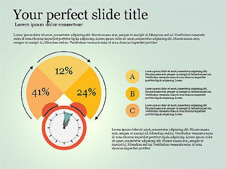 Effective Time Management Presentation Template, Slide 14, 03255, Presentation Templates — PoweredTemplate.com