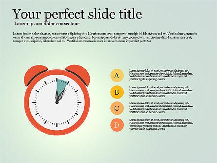Effective Time Management Presentation Template, Slide 15, 03255, Presentation Templates — PoweredTemplate.com