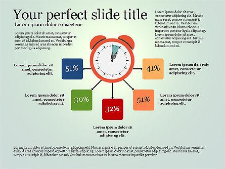 Effective Time Management Presentation Template, Slide 16, 03255, Presentation Templates — PoweredTemplate.com