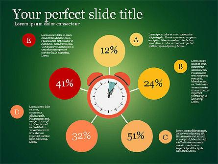 Effective Time Management Presentation Template, Slide 2, 03255, Presentation Templates — PoweredTemplate.com