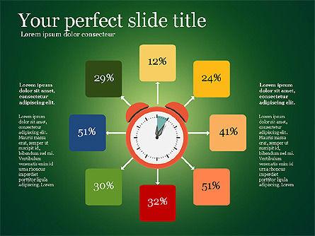 Effective Time Management Presentation Template, Slide 4, 03255, Presentation Templates — PoweredTemplate.com