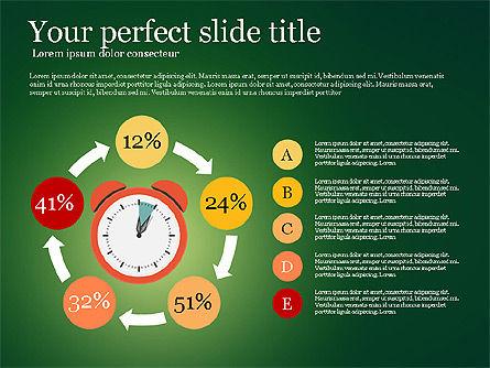 Effective Time Management Presentation Template, Slide 5, 03255, Presentation Templates — PoweredTemplate.com