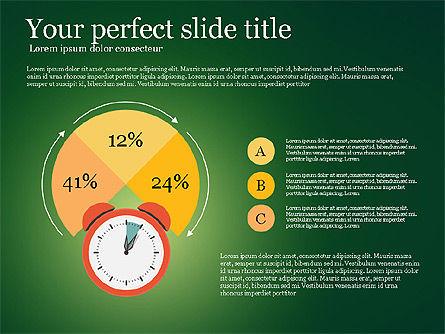 Effective Time Management Presentation Template, Slide 6, 03255, Presentation Templates — PoweredTemplate.com