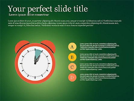 Effective Time Management Presentation Template, Slide 7, 03255, Presentation Templates — PoweredTemplate.com