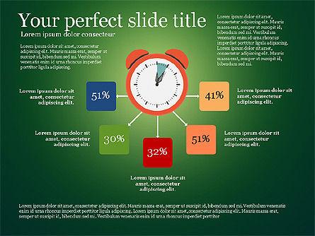 Effective Time Management Presentation Template, Slide 8, 03255, Presentation Templates — PoweredTemplate.com
