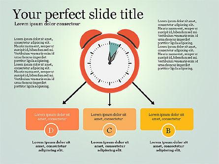 Effective Time Management Presentation Template, Slide 9, 03255, Presentation Templates — PoweredTemplate.com