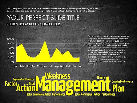 Business Word Cloud Presentation Template, Slide 12, 03256, Presentation Templates — PoweredTemplate.com