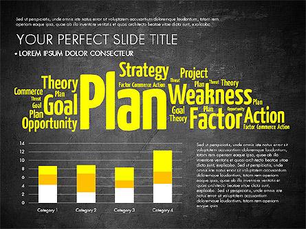 Business Word Cloud Presentation Template, Slide 15, 03256, Presentation Templates — PoweredTemplate.com