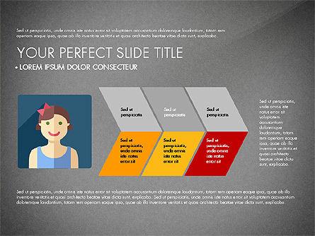 Team Profile in Material Design Style, Slide 14, 03258, Presentation Templates — PoweredTemplate.com