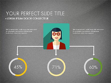 Team Profile in Material Design Style, Slide 15, 03258, Presentation Templates — PoweredTemplate.com