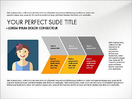 Team Profile in Material Design Style, Slide 6, 03258, Presentation Templates — PoweredTemplate.com