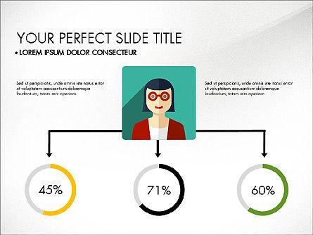 Team Profile in Material Design Style, Slide 7, 03258, Presentation Templates — PoweredTemplate.com