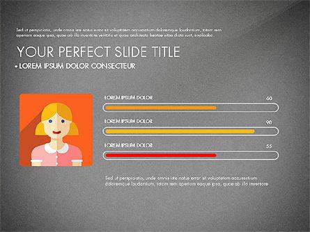 Team Profile in Material Design Style, Slide 9, 03258, Presentation Templates — PoweredTemplate.com