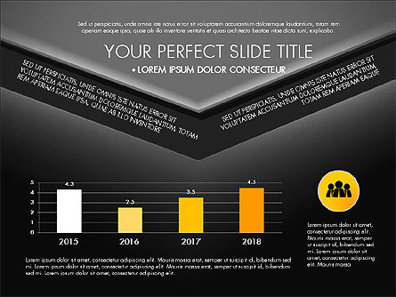Envelope Style Presentation Concept, Slide 12, 03259, Presentation Templates — PoweredTemplate.com