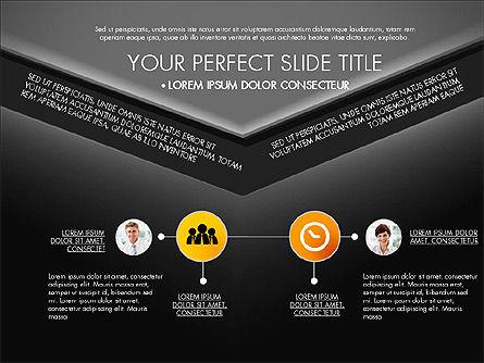 Envelope Style Presentation Concept, Slide 14, 03259, Presentation Templates — PoweredTemplate.com