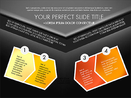 Envelope Style Presentation Concept, Slide 15, 03259, Presentation Templates — PoweredTemplate.com