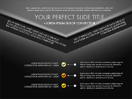 Envelope Style Presentation Concept, Slide 16, 03259, Presentation Templates — PoweredTemplate.com