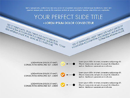 Envelope Style Presentation Concept, Slide 8, 03259, Presentation Templates — PoweredTemplate.com