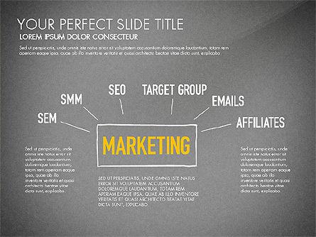 Website Production Diagram, Slide 10, 03260, Business Models — PoweredTemplate.com