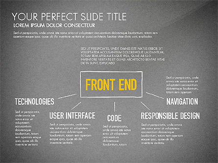 Website Production Diagram, Slide 12, 03260, Business Models — PoweredTemplate.com