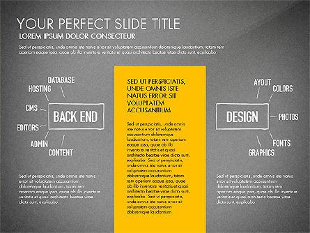 Website Production Diagram, Slide 13, 03260, Business Models — PoweredTemplate.com