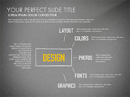 Website Production Diagram, Slide 14, 03260, Business Models — PoweredTemplate.com