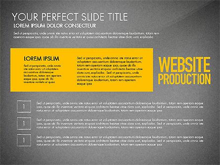 Website Production Diagram, Slide 16, 03260, Business Models — PoweredTemplate.com