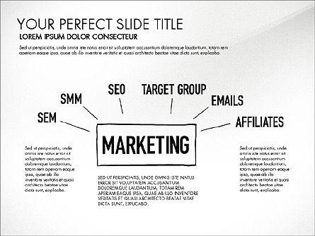 Website Production Diagram, Slide 2, 03260, Business Models — PoweredTemplate.com