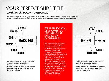 Website Production Diagram, Slide 5, 03260, Business Models — PoweredTemplate.com