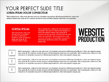 Website Production Diagram, Slide 8, 03260, Business Models — PoweredTemplate.com