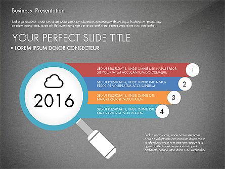 Timeline and Stages Process Diagram, Slide 10, 03261, Timelines & Calendars — PoweredTemplate.com